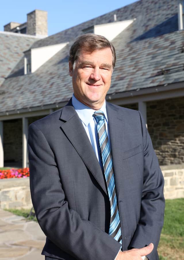 Paul Sparrow, the new director of the FDR Library in Hyde Park.