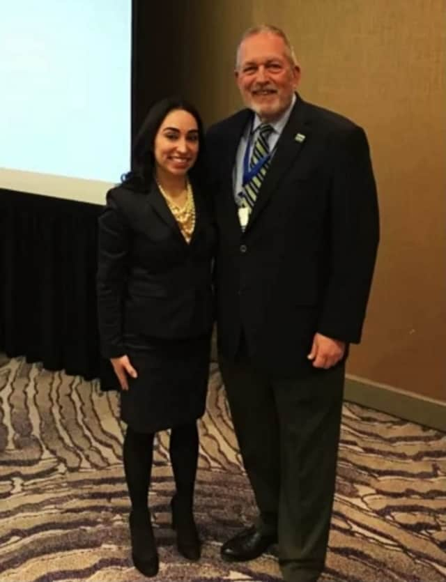 Paula Gutierrez, left, with President and CEO of NJ Sharing Network Joe Roth. She is the transplant coordinator for the organization.