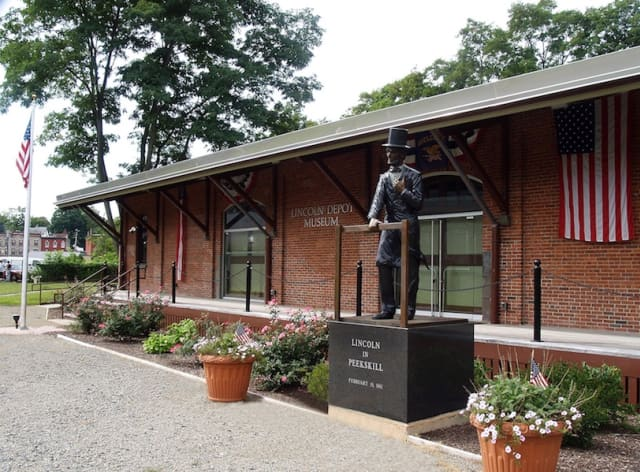 The Lincoln Depot Museum in Peekskill commemorates the city's brush with Honest Abe on his way to his first inauguration – and destiny. Courtesy Lincoln Depot Museum.