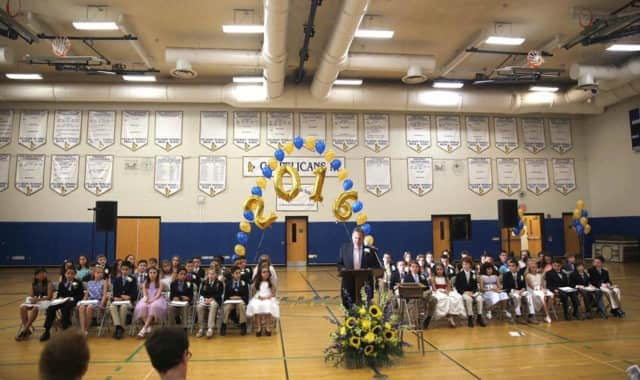 Prospect Hill Elementary School honored  the class of 2016 in a ceremony Friday.