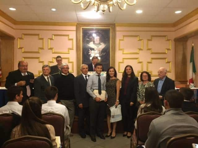 Westchester organizations honored PMHS students for their outstanding performance in the Italian language.