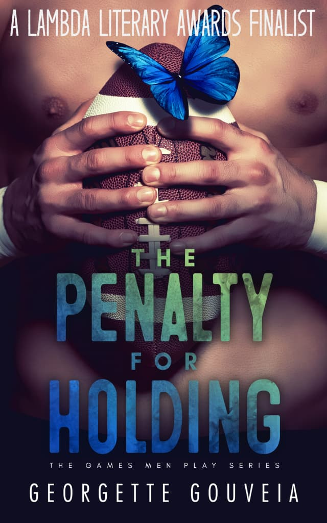 """Georgette Gouveia's novel """"The Penalty for Holding"""" has been reissued by JMS Books."""