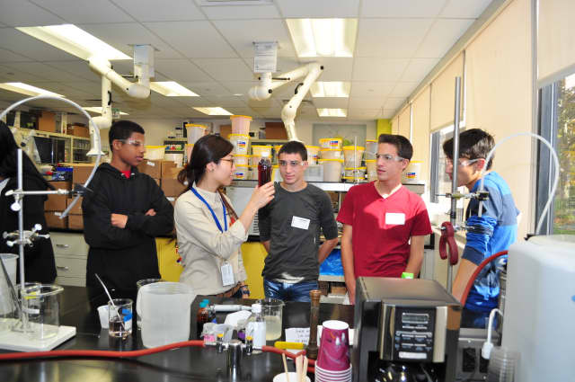 Valhalla High School students were introduced to hands-on science at the local PepsiCo campus, learning about a variety of careers based in the STEM fields.