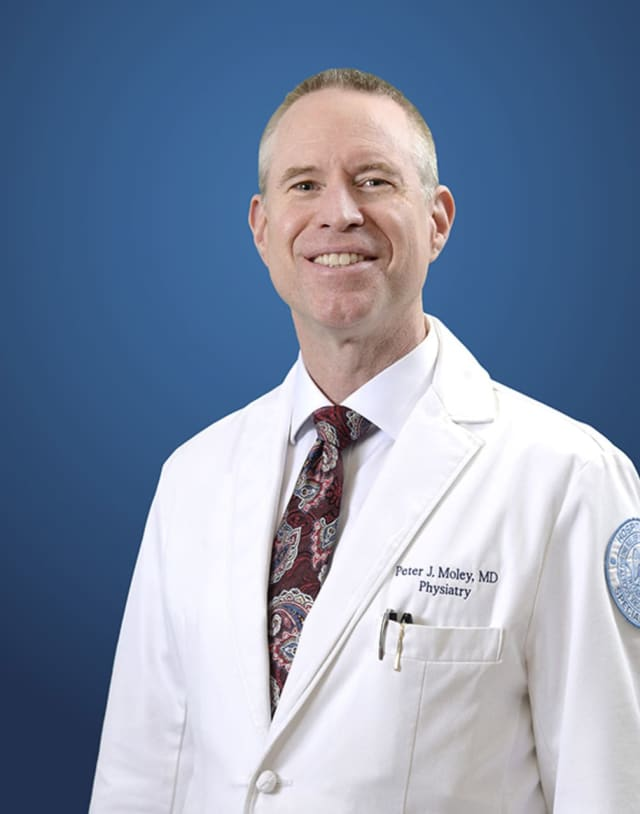 Dr. Peter Moley of Hospital for Special Surgery.