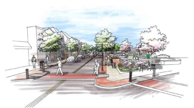The plans for downtown Chappaqua.