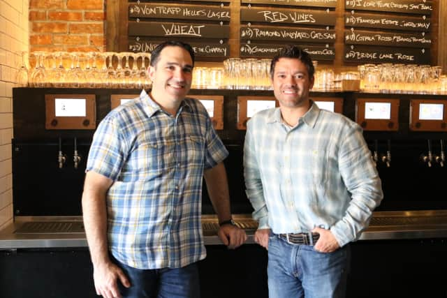 Angelo Viscoso and Brad Nagy, Co-Owners of Frankie & Fanucci's Wood Oven Pizzeria