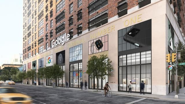 The new Google Store in Chelsea