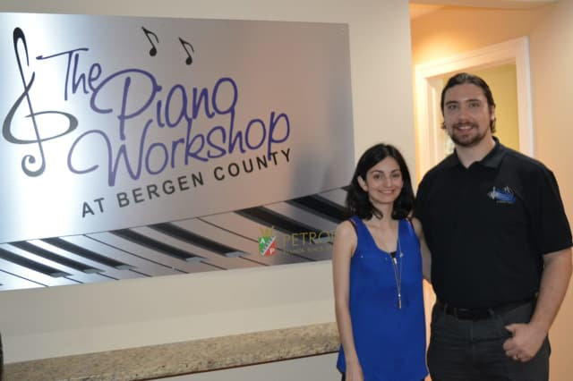 Sonia and John Kiernan recently opened The Piano Workshop at Bergen County in Ridgewood.