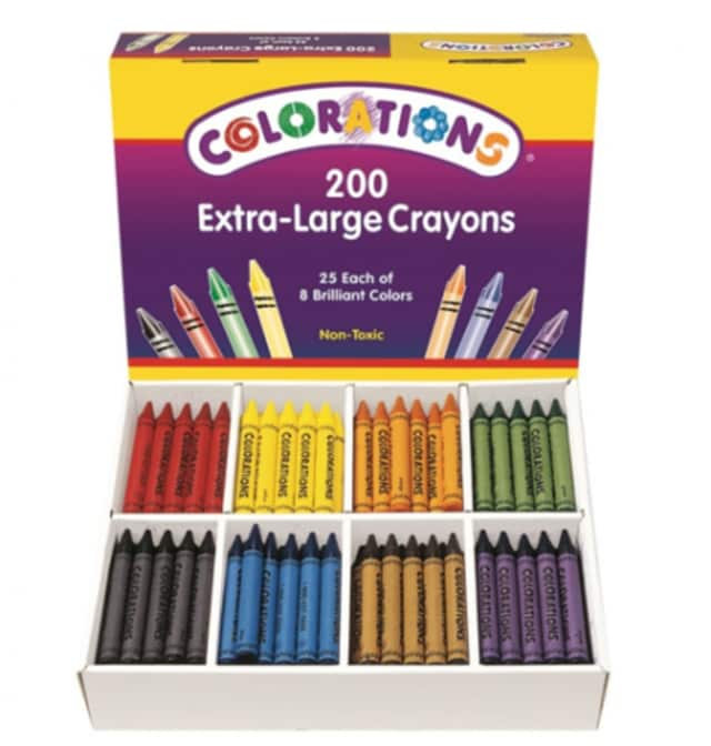 There has been a federal recall of Colorations brand crayons.
