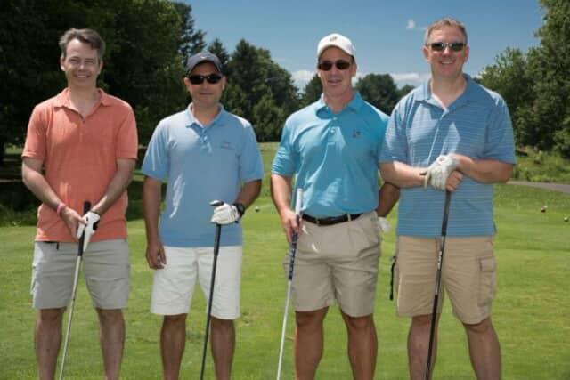 (from left) Pierre Noriege, John Flores, Daniel Gioia and Wayde Bendus of Pleasantville