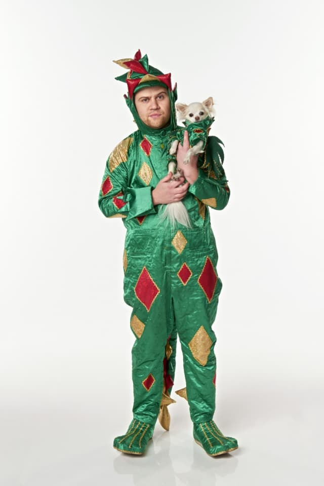 Piff the Magic Dragon will perform at the Ridgefield Playhouse Friday.