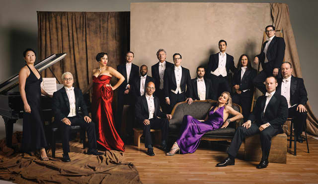 Pink Martini. Photograph by Chris Horbecker.