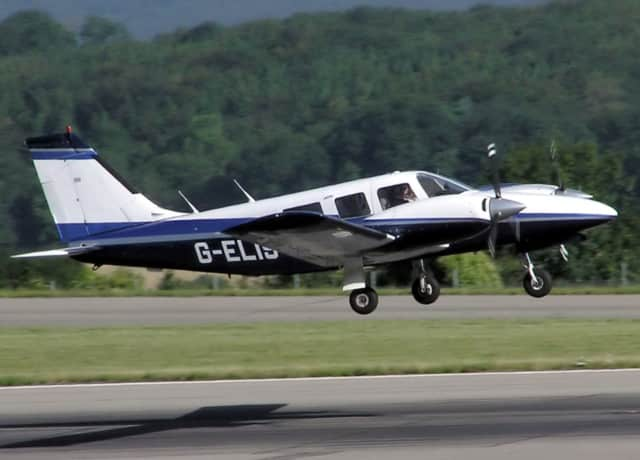 A state police investigation in Vermont determined that a 1975 Piper PA-34-200T plane traveling from to Connecticut that crashed was being operated by a local resident.