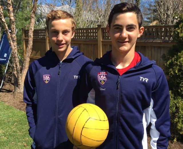 Greenwich Gavin West, 13, and Jack Bruce, 14, are on the USA men's national development water polo team. Gavin attends Brunswick and plays for the YMCA Greenwich Aquatics. Jack attends Eastern Middle School and plays at Chelsea Piers.