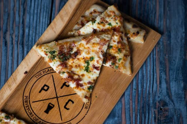 The Plank Pizza Co. Beer Parlor is at 383 Market St., Bldg D.