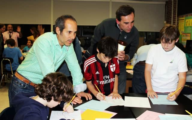 Pocantico Hills School Family Math Night 2016