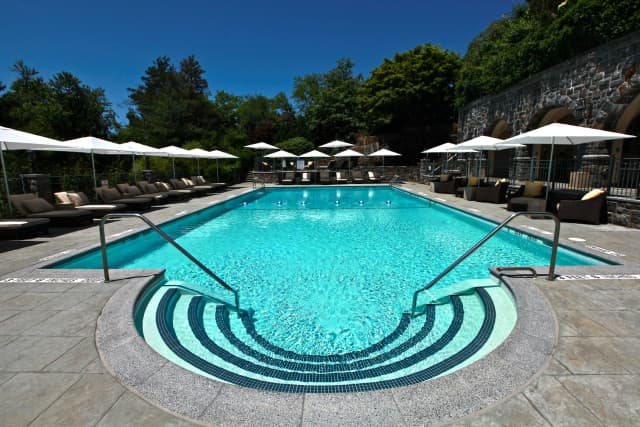 The Castle Hotel & Spa's Pool and Grotto Bar are the setting for the return of its popular Poolside Pairings series.