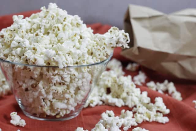 The vast majority of Americans (73 percent) enjoy their popcorn with butter and salt.