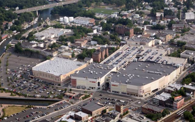 An aerial view of The Waterfront at Port Chester shopping center. Avison Young, a Toronto-based commercial real estate services firm, has been hired as the exclusive leasing agent for the 500,000-square-foot property owned by G & S Investors.