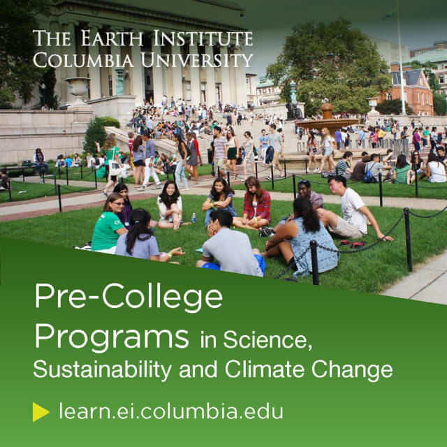 The Earth Institute at Columbia University is excited to offer virtual pre-college learning opportunities for high school students in spring 2021.