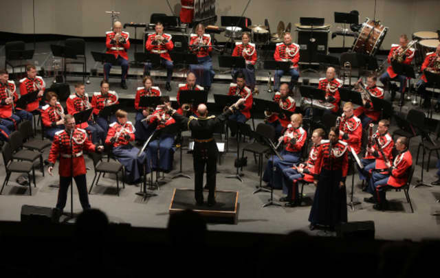 """Students in Greenwich Schools are going to learn musical arrangements from instrumentalists in the country's most prestigious marching band """"The President's Own"""" starting this week."""