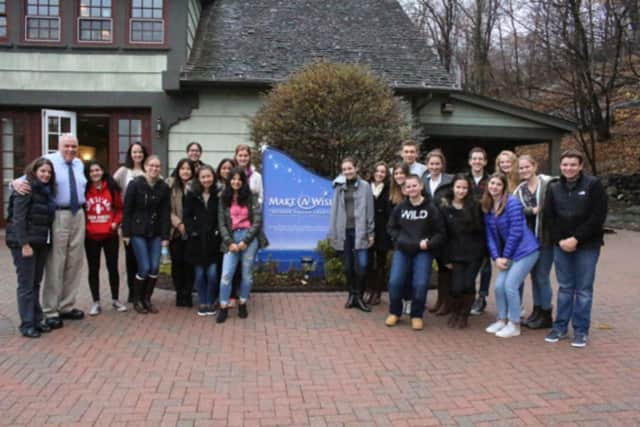 Sleepy Hollow students recently held a fundraiser for the Make-A-Wish Foundation.