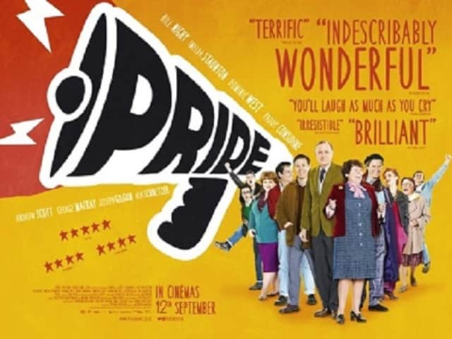 """The Social Action Committee of the Central Unitarian Church in Paramus will screen the film """"Pride"""" Friday in the church's Assembly Room May 20."""