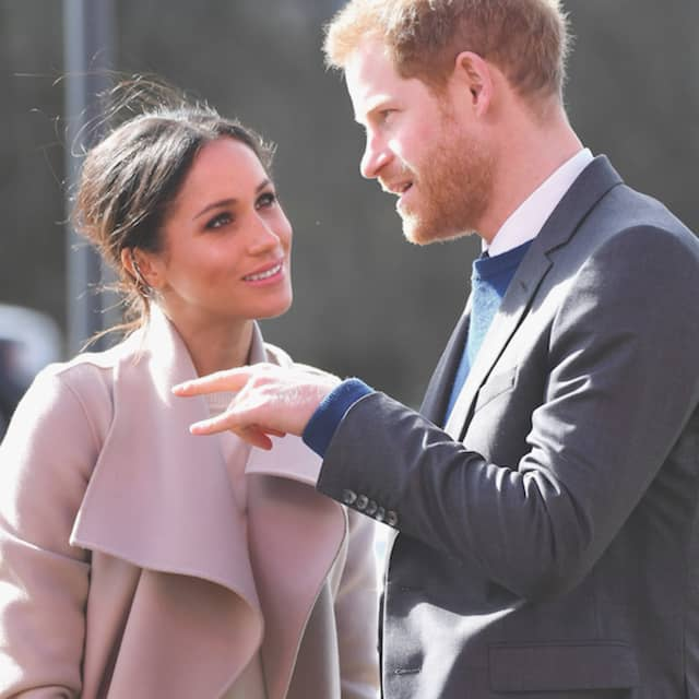 Meghan Markle and Prince Harry in Northern Ireland.