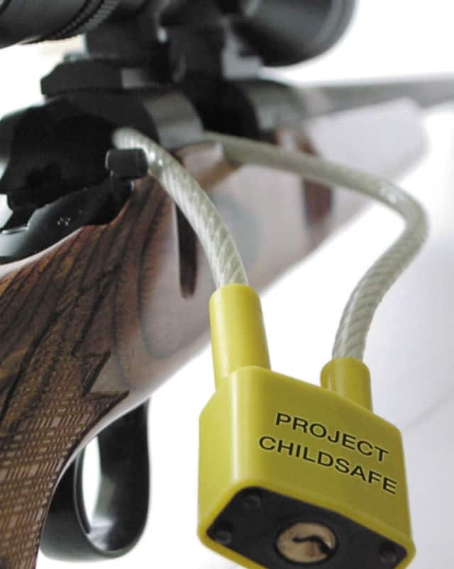 Free Project ChildSafe gun locks are available at the Bedford Police Department.