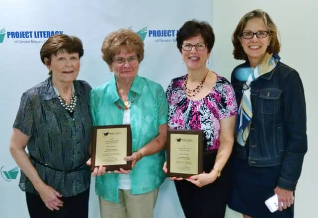 From left are Nancy Honsinger, Kathy Garden, Linda Keesing and Victoria Hilditch.