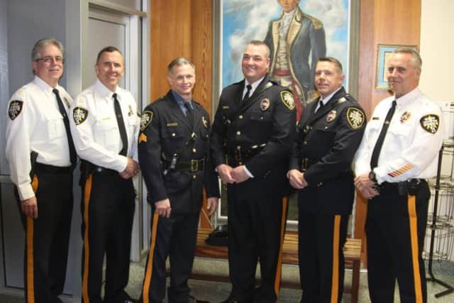 Detective Capt Laurence Martin, Capt. Keith O'Sullivan, Sgt. Richard Oberti, Detective Capt. John McNIff, Lt. Christian Wittig, Police Chief James Clarke