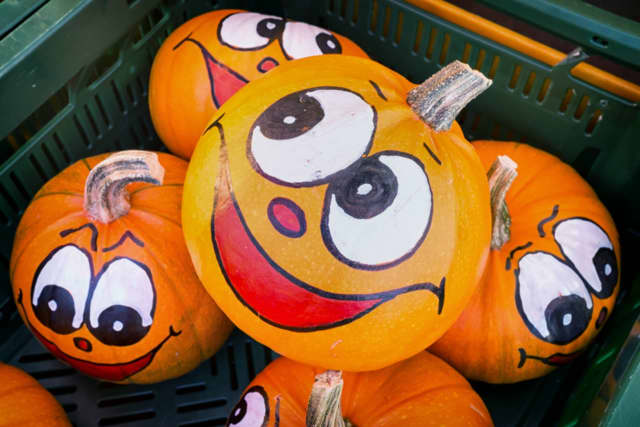The Garfield Public Library is inviting children to the library to paint mini pumpkins.