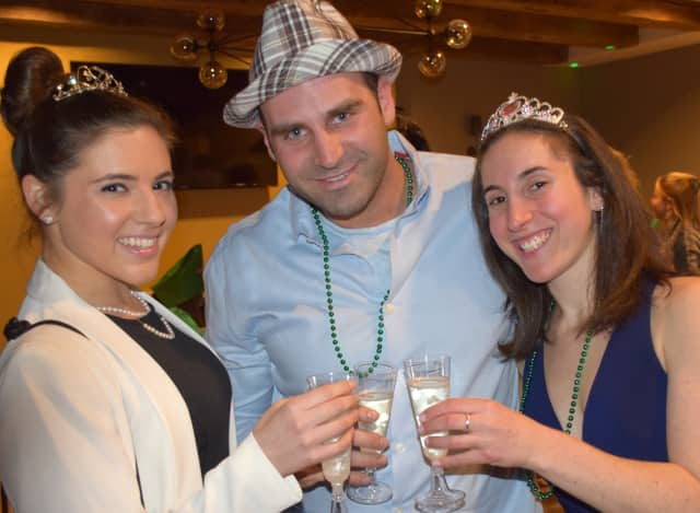 """Young Jewish Professionals' Purim networking event, """"Purim with the Stars,"""" in 2015."""