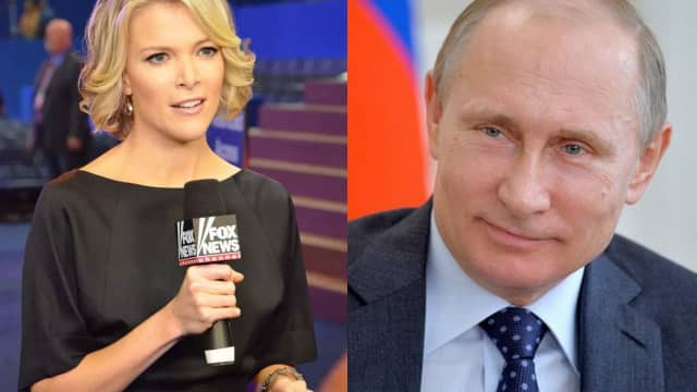 Megyn Kelly is interviewing Vladmir Putin