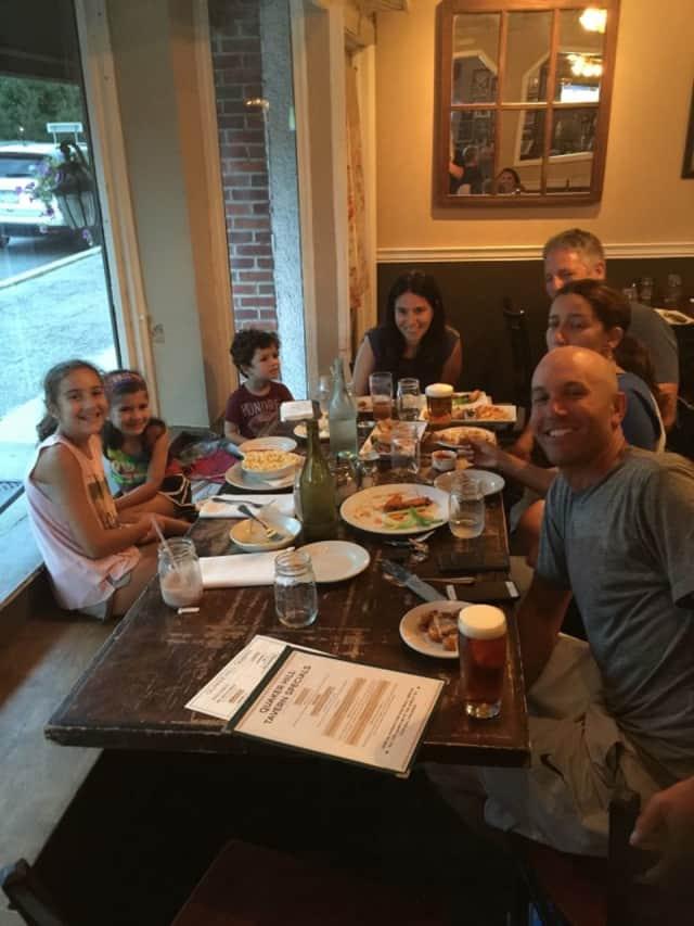Kids at Quaker Hill Tavern in Chappaqua.