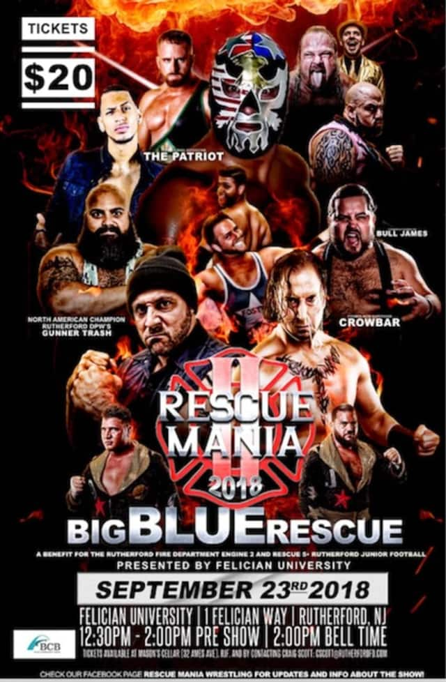 """Although $20 tickets could be available at the door, last year's first-ever """"Rescue Mania"""" sold out."""