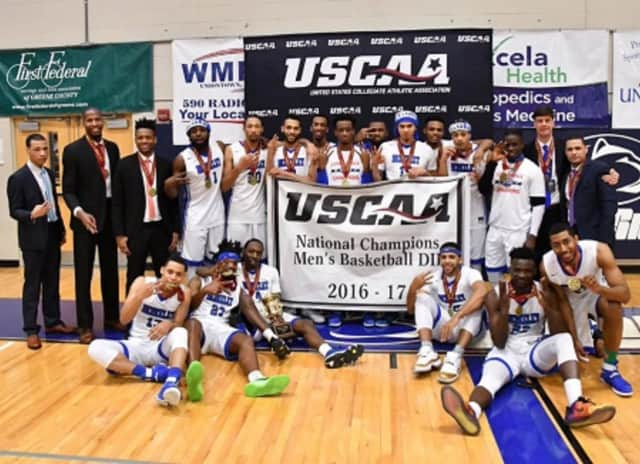 The Berkeley College Men's Basketball team recently won its third consecutive United States Collegiate Athletic Association (USCAA) Division II Men's Basketball National Championship.
