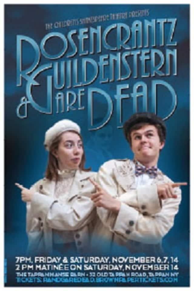 """Children's Shakespeare Theatre will present """"Rosecrantz & Guildenstern Are Dead"""" on Nov. 14."""