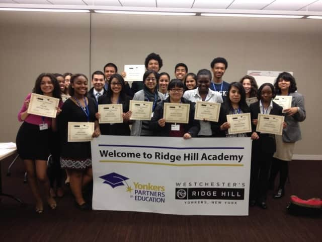 Yonkers Partners in Education and Ridge Hill offer students career training.