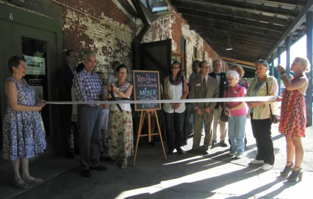 The Red Hook Chamber of Commerce held a ribbon cutting and mixer at Arts at the Chocolate Factory Wednesday, June 22.