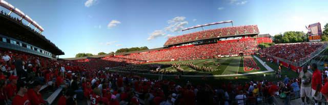 Rutgers Football Stadium.