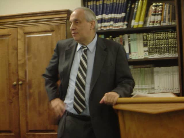 Rabbi Avraham Weiss of the Hebrew Institute of Riverdale.