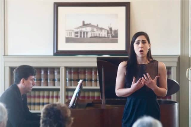 SUNY Purchase graduate student Rachel Weishoff, a mezzo-soprano, accompanied by Matthew Cossack, will perform again at Crawford Mansion for an afternoon of opera and American classics on Sunday.