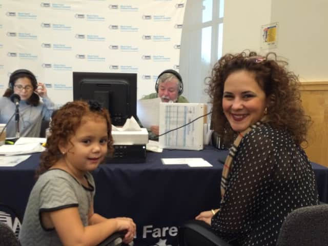 Rianne Torres and her mother, Rosa Torres, joined 100.7 WHUD broadcasters Kacey Morabito Grean and Mike Bennett for the station's annual Children's Miracle Network Hospitals Radiothon.