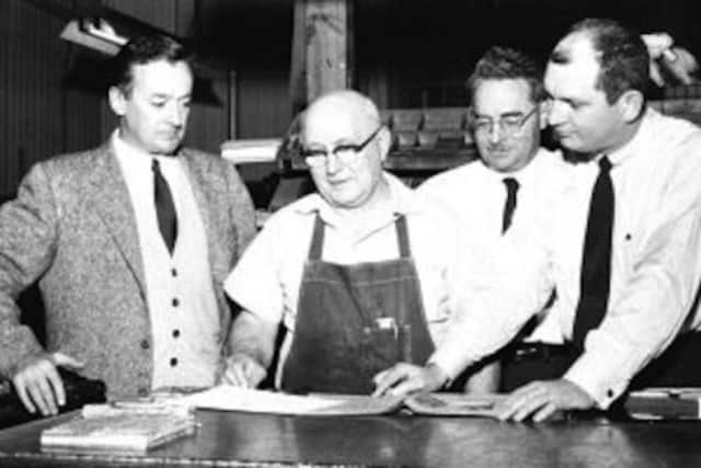 John Dater and Ramsey Journal staff