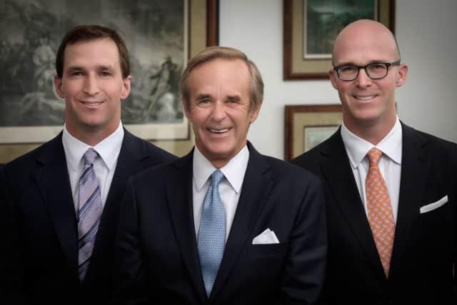 "The leadership team at William Raveis includes, left to right, Ryan Raveis, William ""Bill"" Raveis, Chris Raveis."