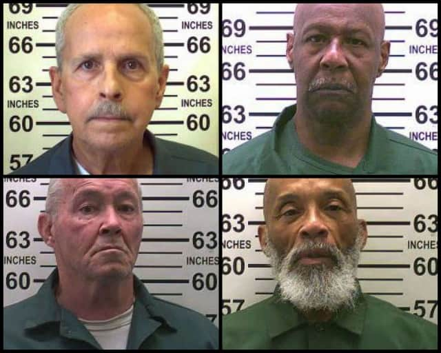 Four of the 50 longest tenured inmates in New York are incarcerated in the Hudson Valley.