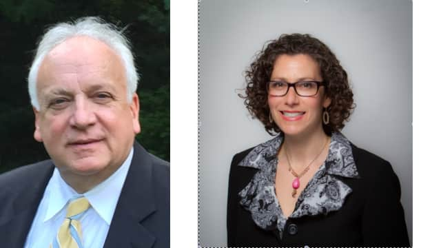 John Perillo and Dana Levenberg are running for Ossining Town Supervisor.