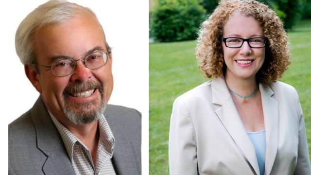 Bruce Washburn is challenging Elizabeth Spinzia for Rhinebeck Town Supervisor.