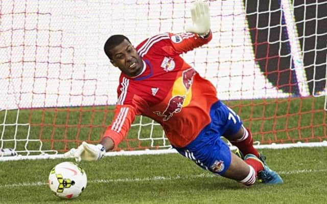 Red Bulls II goalkeeper Rafael Diaz will arrive at Lodi Memorial Library on Monday.